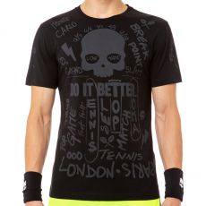 T Shirt Hydrogen Graffiti Noir / Anthracite