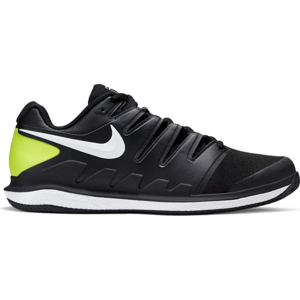 Chaussures Nike Zoom Vapor X terre battue Black / Yellow Fluo - Extreme Tennis