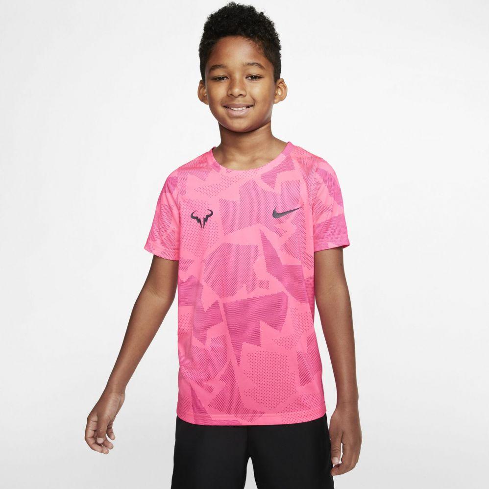 T Shirt de Tennis Nike Junior Dri Fit Rafael Nadal Australian Open 2020
