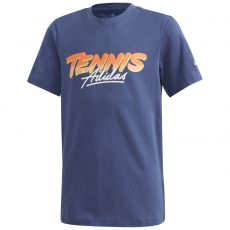 T Shirt Adidas Junior Graphic Tennis Aeroready