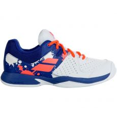 Chaussure Babolat Pulsion Junior White Blue