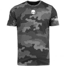 T Shirt Hydrogen Tech Black Reflex Camo