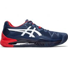 Chaussure Asics Gel Resolution 8 Clay Bleu Peacoat White SS20