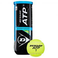 Tube de 3 Balles Dunlop ATP Championship
