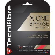 Tecnifibre X One Biphase Red 12m