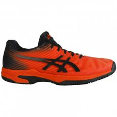 Chaussure Asics Gel Solution Speed FF Red Black