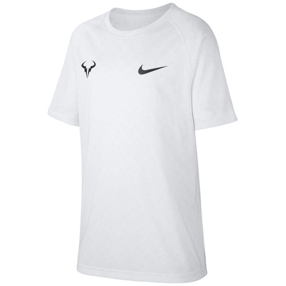 T Shirt Nike Junior Nadal White