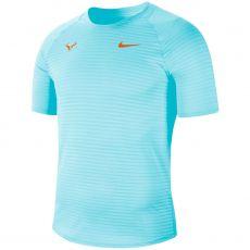T Shirt Nike AeroReact Rafael Nadal Blue Paris 2020