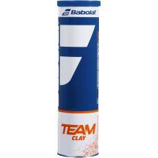 Tube de 4 balles Babolat Team Clay
