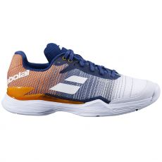 Chaussure Babolat Jet Mach 2 Clay White/Pureed Pumpkin