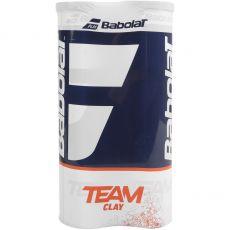Bipack Babolat Team Clay (2 tubes de 4 balles)