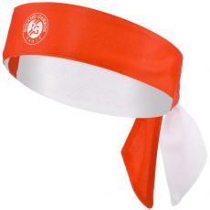 Headband Roland Garros Performance Microfibre Orange Terre Battue