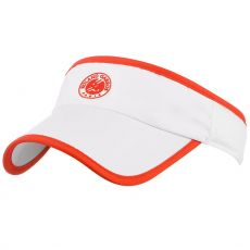 Roland Garros Performance Visor White