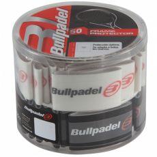 Bullpadel Boite de protection de cadre Noir / Transparent x 50