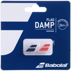 Antivibrateur Babolat Flag Damp Rouge/Noir