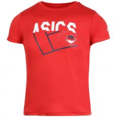 T Shirt Asics Junior Tennis GPX Rouge 2020