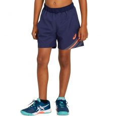 Short Asics Junior Club GPX Marine / Corail