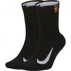 Nike Court Multiplier Cushioned Socks x 2 Black