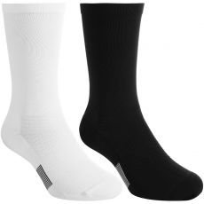 Asics Crew Technical Socks Black / White (2 pairs)