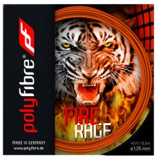 Polyfibre Fire Raged Ribbed 12m