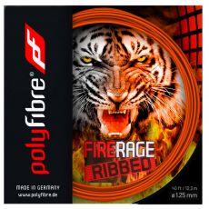 Polyfibre Fire Rage Ribbed 12m