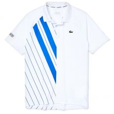 Polo Lacoste SPORT x Novak Djokovic Blue / White