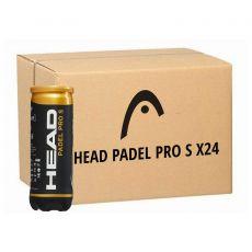 Carton de 24 tubes de 3 Balles Head Padel Pro S