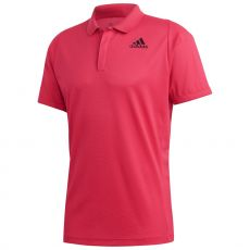 Polo Adidas FreeLift Heat.Rdy Rouge Fluo