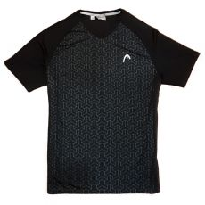 T Shirt Head Padel Alpha Black