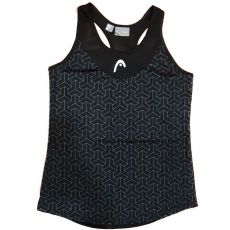 Head Padel Alpha Black Tank top