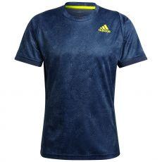 T Shirt Adidas FreeLift Printed Primeblue Bleu Australian Open 2021