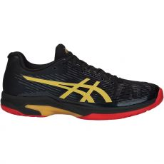 Chaussure Asics Gel Solution Speed FF Limited Edition Noir / Or