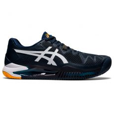 Chaussure Asics Gel Resolution 8 Clay Marine / Blanc SS 2021