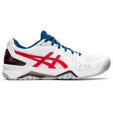 Chaussure Asics Gel Challenger 12 Blanc / Rouge SS 2021
