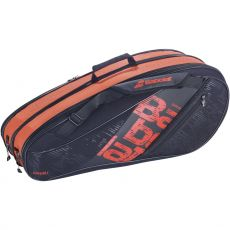 Sac de tennis Babolat Expandable Team Line Noir / Rouge 10R