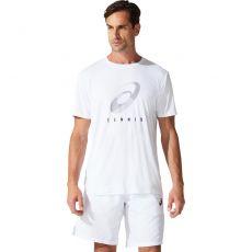 T Shirt Asics Spiral White