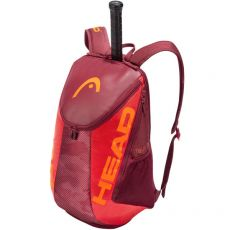 Head Tour Team Black Backpack Red 2021