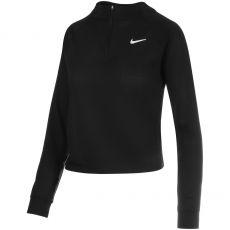 T-shirt Nike Femme Victory Longues Manches Noir