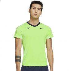T Shirt Nike Dri-Fit ADV Rafael Nadal Vert Fluo Paris 2021