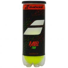 Tube de 3 Balles Babolat Padel Tour