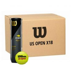 Box 18 cans of 4 Wilson US Open balls