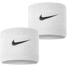 Wristband Nike Swoosh Black / White x 2