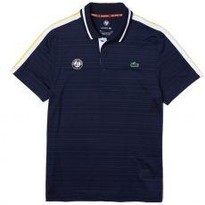 Polo Lacoste Sport Roland Garros Bleu Marine