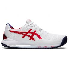 Asics Gel Resolution 8 Red Shoes