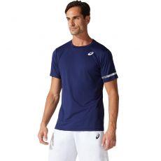 T-Shirt Asics Court Bleu Marine