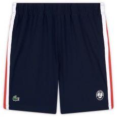 Short Lacoste x Roland Garros Bleu Marine