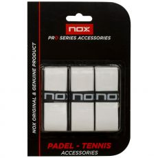 Nox Pro Perforated White x 3 overgrips