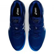Asics Court FF Novak White / Blue Shoes