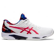 Chaussure Asics Solution Speed FF 2 L.E. Blanc / Rouge