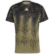 Adidas FreeLift Black / Blue US Open 2021 T-Shirt